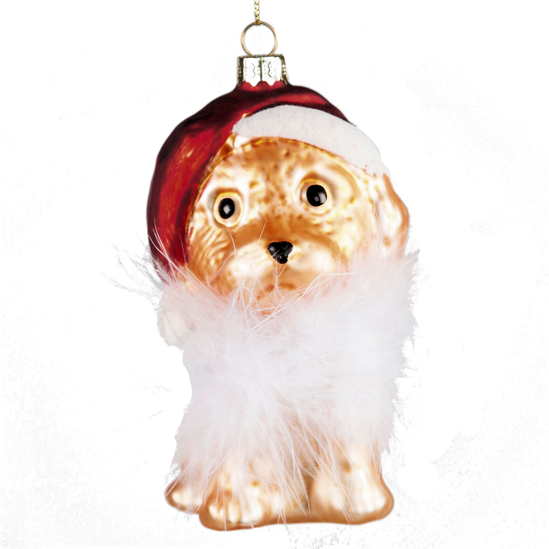 Glass Cat Christmas Tree Ornaments Uk