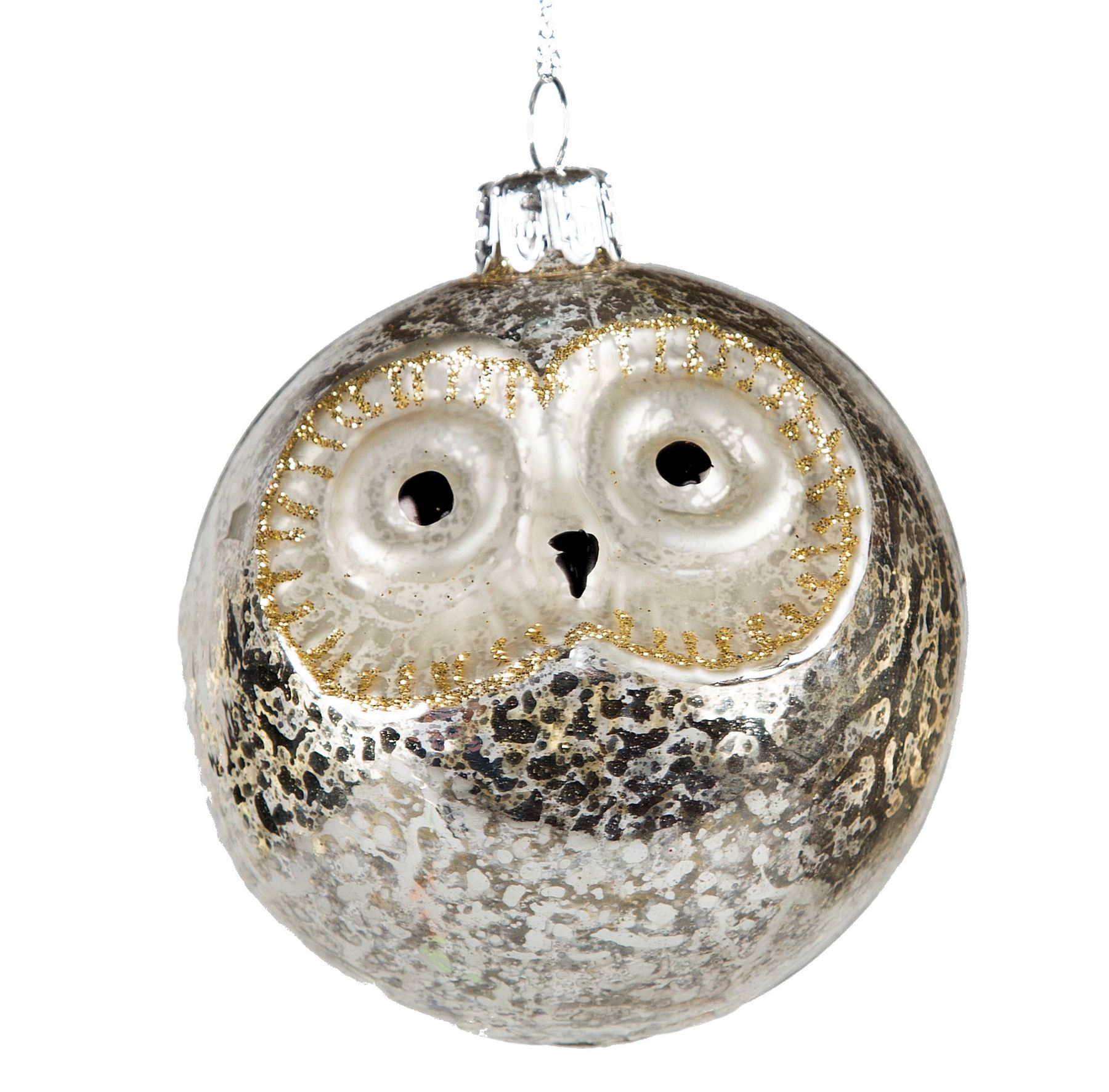 luxury glass birds christmas tree hanging decorations baubles