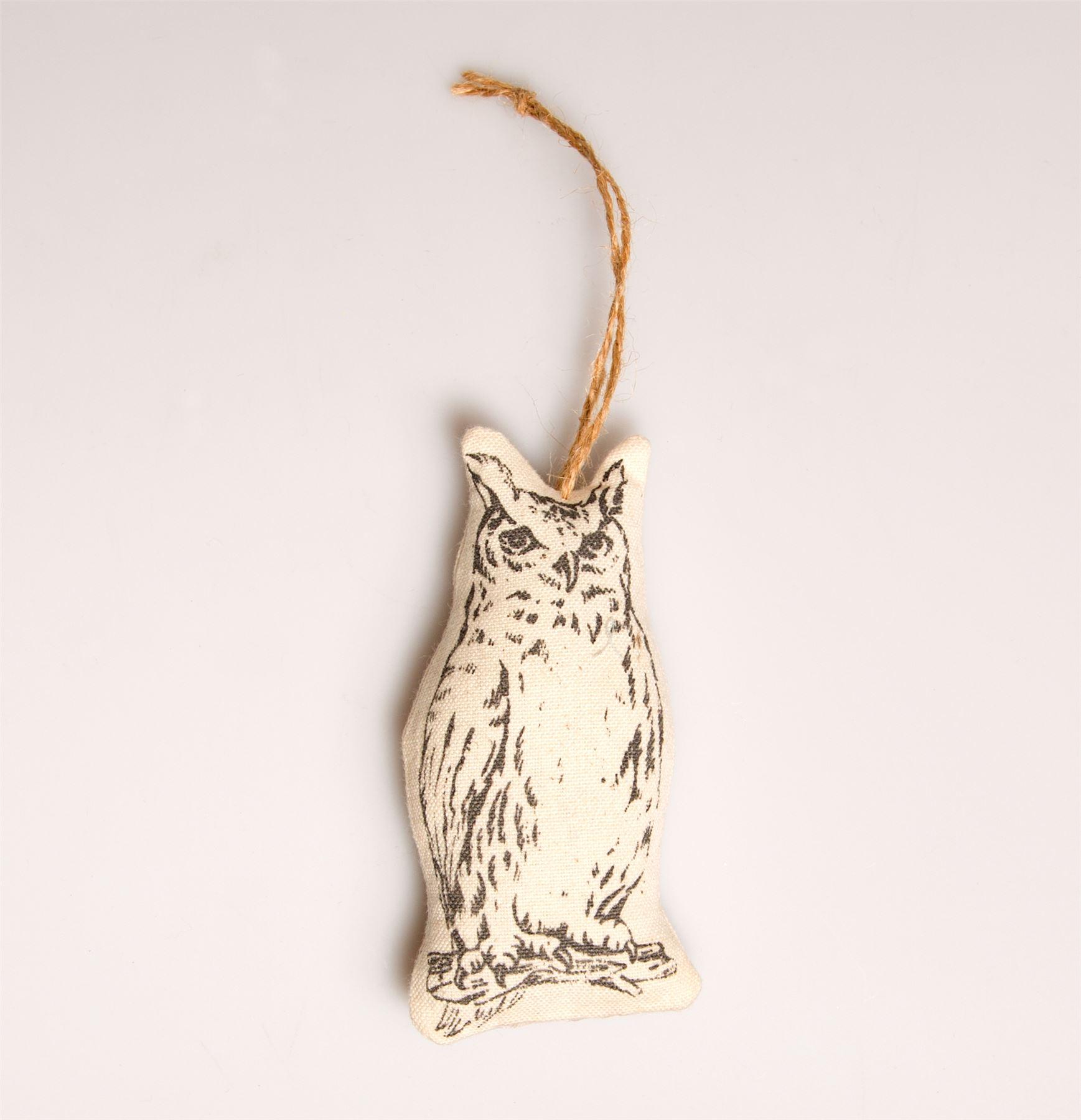 tissu no l hibou cerf deer suspendu d corations pour. Black Bedroom Furniture Sets. Home Design Ideas