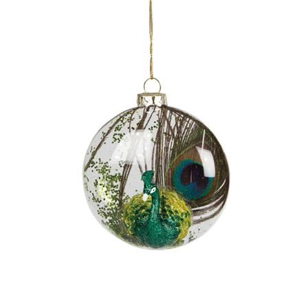 Luxury glass christmas decorations tree baubles box sets for Quirky ornaments uk
