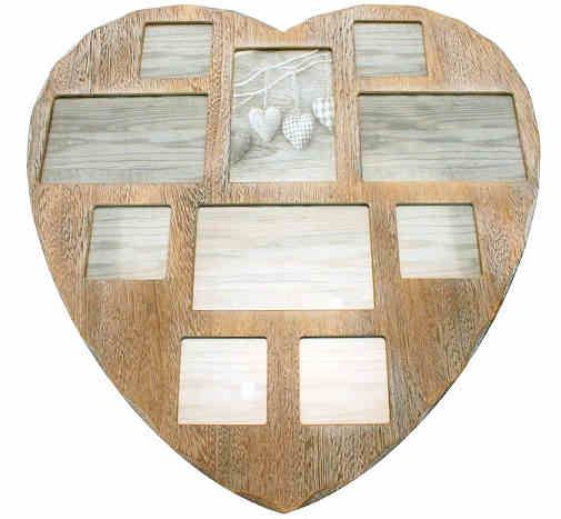 Wood Heart Picture Frame ~ Creative Ideas About Interior and Furniture