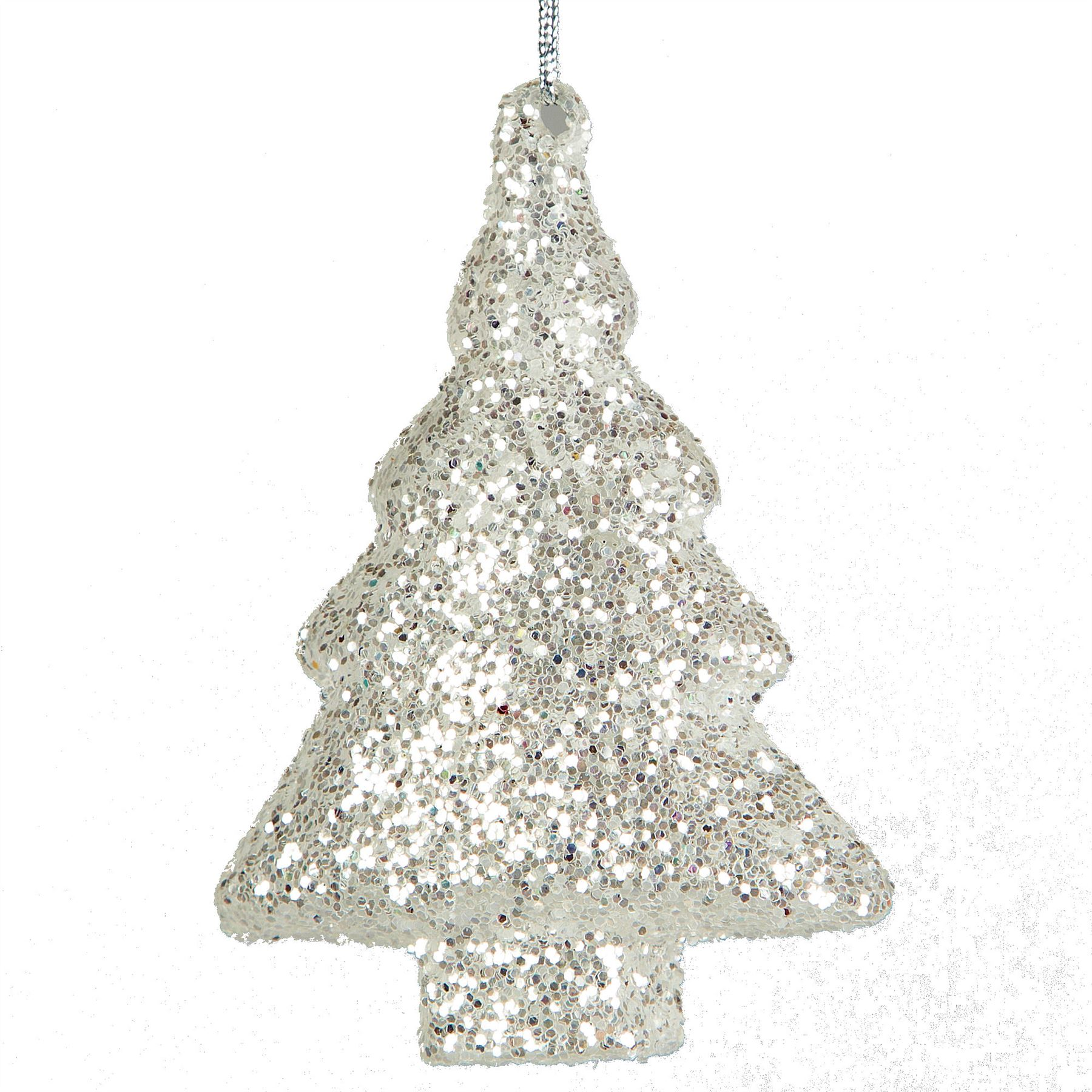Luxury Glass Crystal Christmas Decorations Sets Hanging