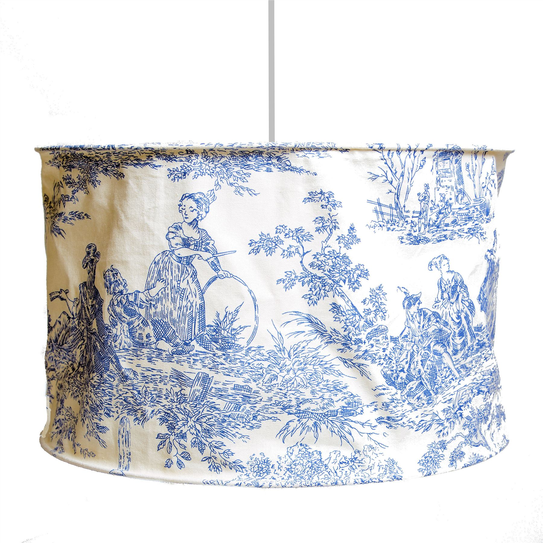 Ceiling Lamp Shade Materials: LARGE FABRIC CEILING LIGHT/LAMP SHADE PENDANT BEDROOM