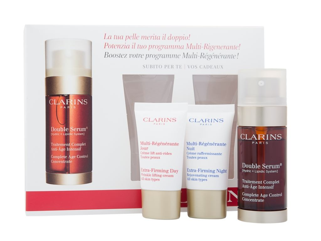 clarins double serum 30ml collection 898 ebay. Black Bedroom Furniture Sets. Home Design Ideas