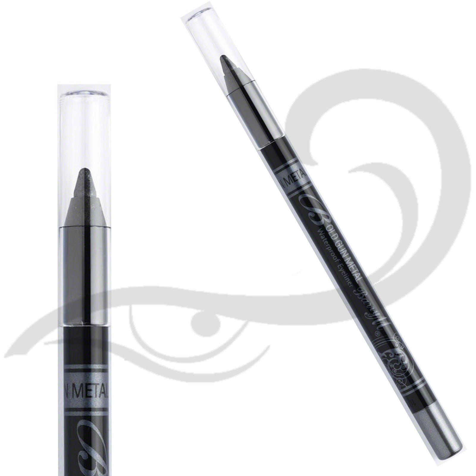 Barry M Eyeliner Kohl Waterproof Pencil Bold Liner Soft Tip All Colours