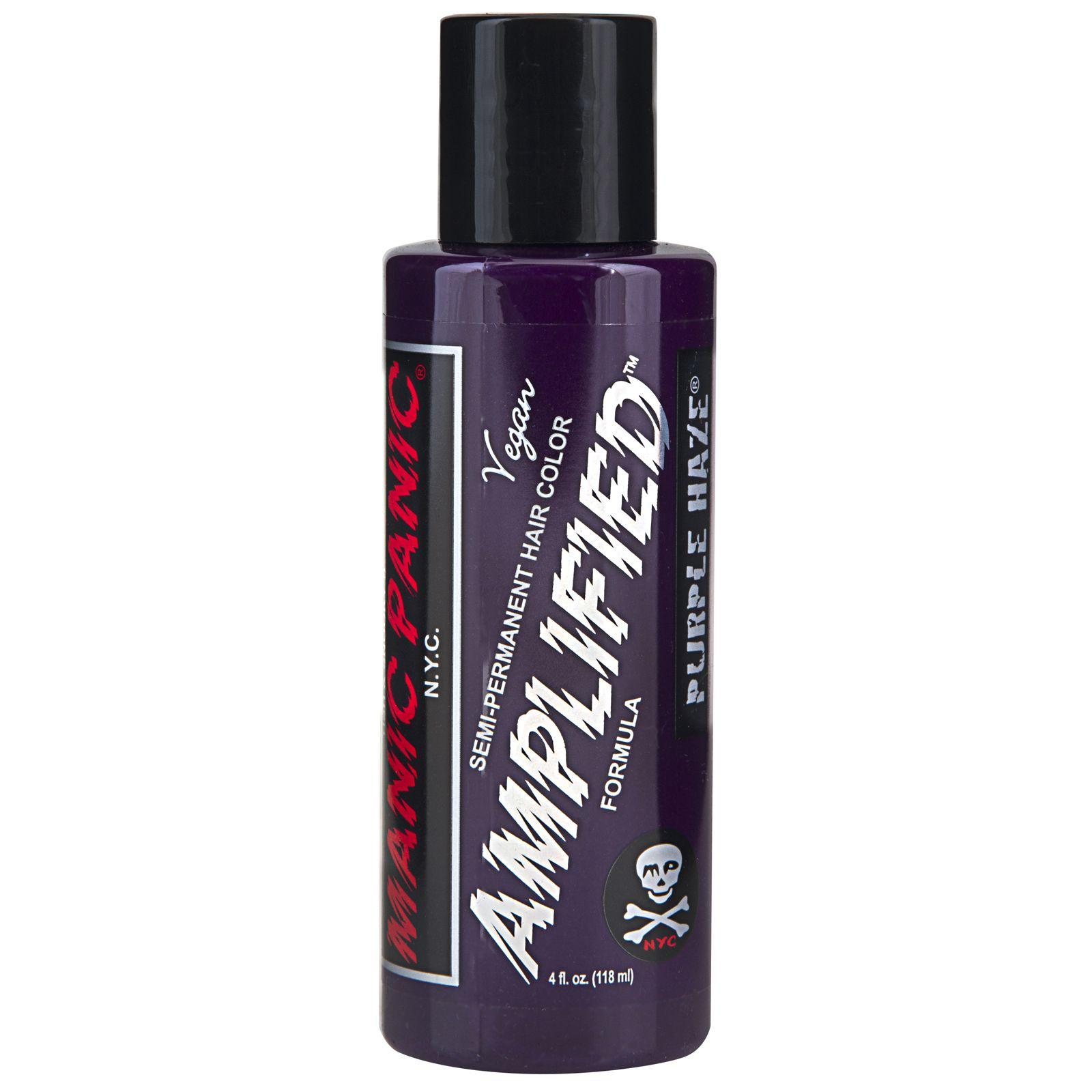 Manic Panic Amplified Semi Permanent Cream Hair Dye Vegan 118ml All Colours