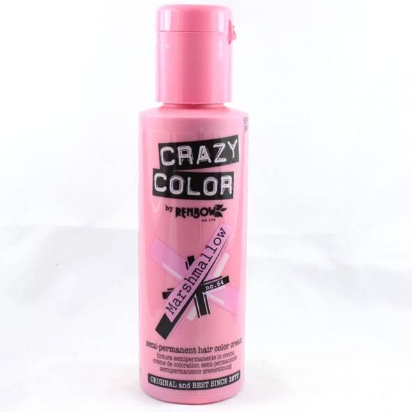 RENBOW HAIR DYE CRAZY COLOR MARSHMALLOW LILAC SEMI PERMANENT CREAM COLOUR  EBay