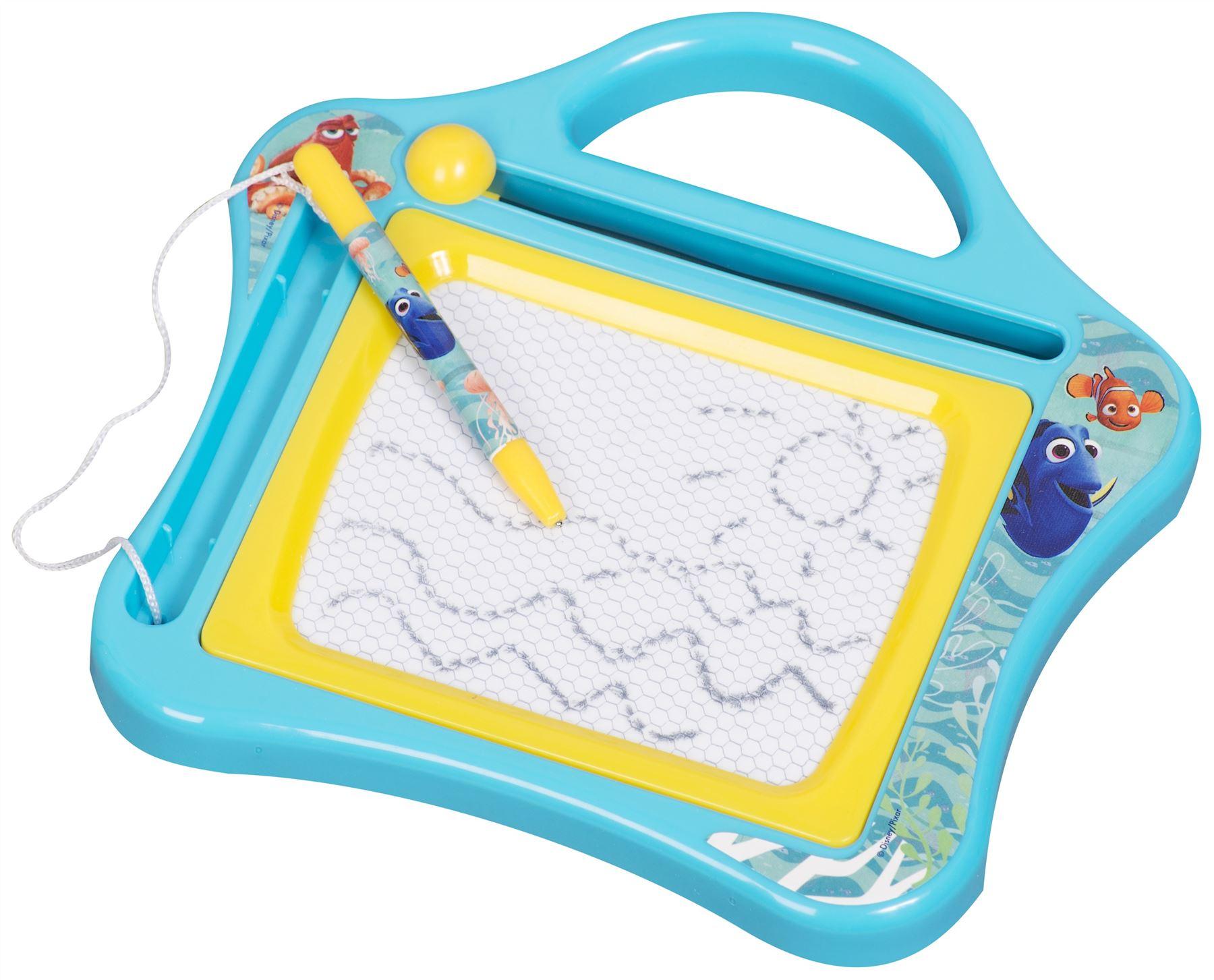 disney childrens kids small scribbler etch a sketch magnetic drawing board toys ebay. Black Bedroom Furniture Sets. Home Design Ideas