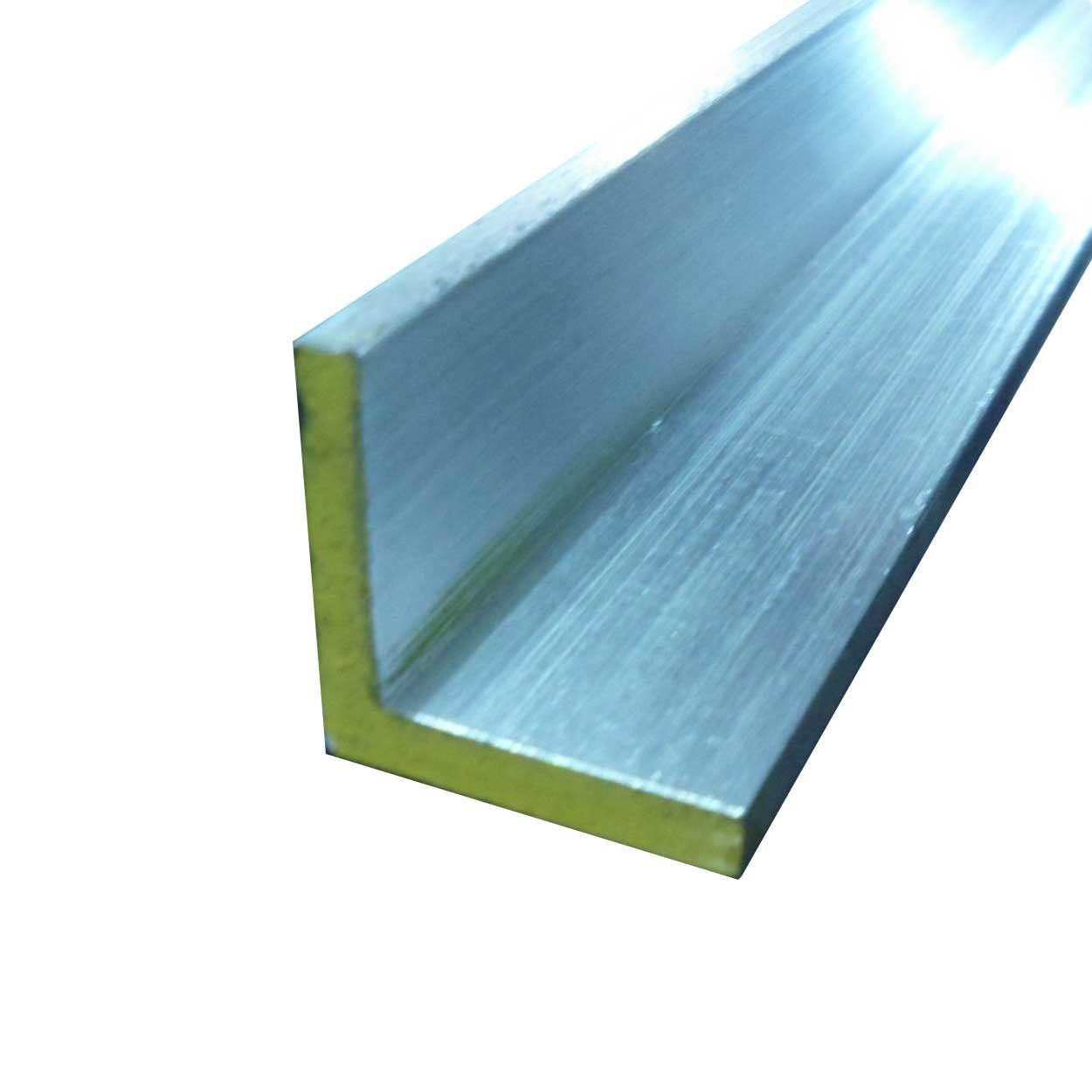 6063 T52 Aluminum Architectural Angle 2 X 2 X 72 1 4