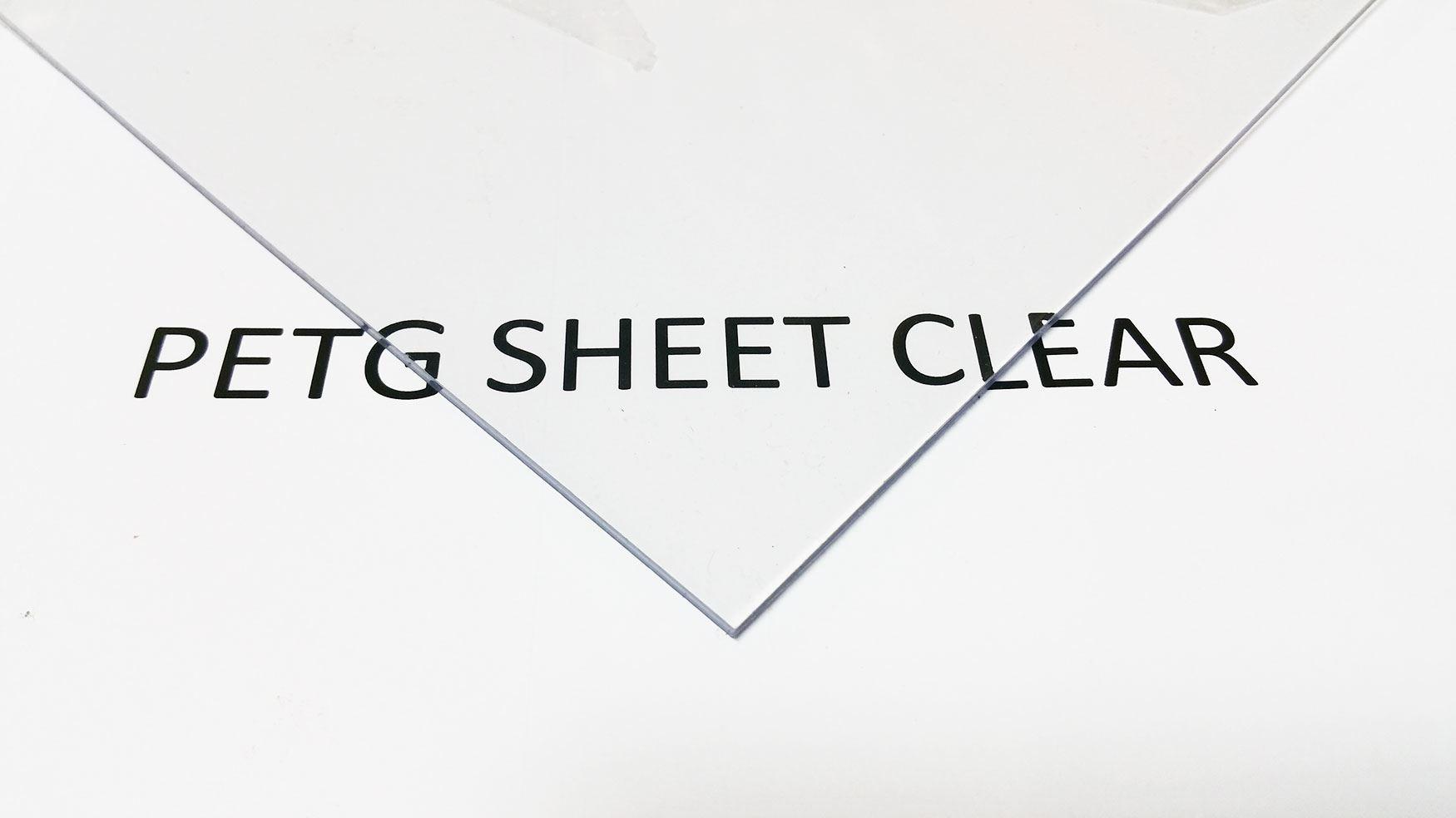 how to cut petg sheet
