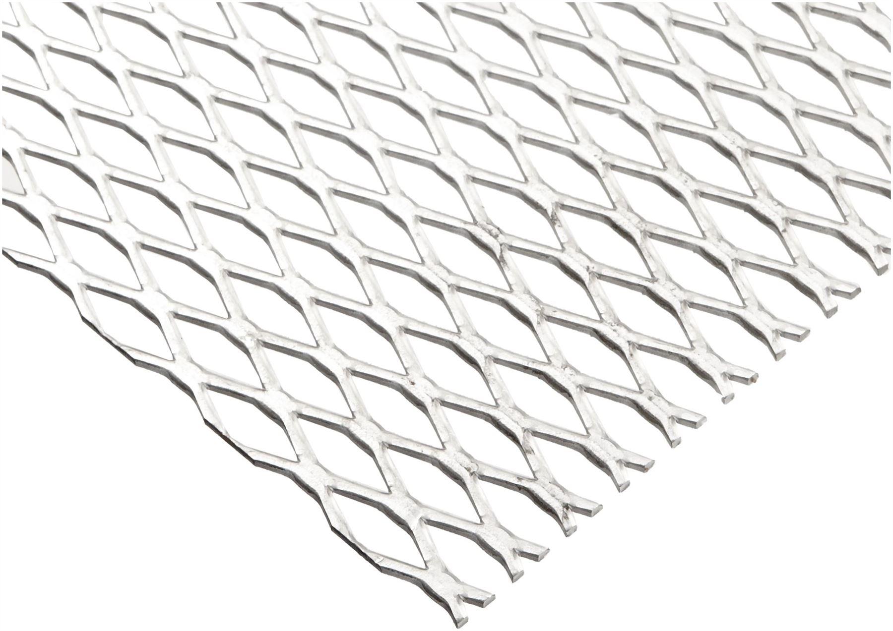 Steel Expanded Metal Galvanized Flattened Sheet 1 2 16