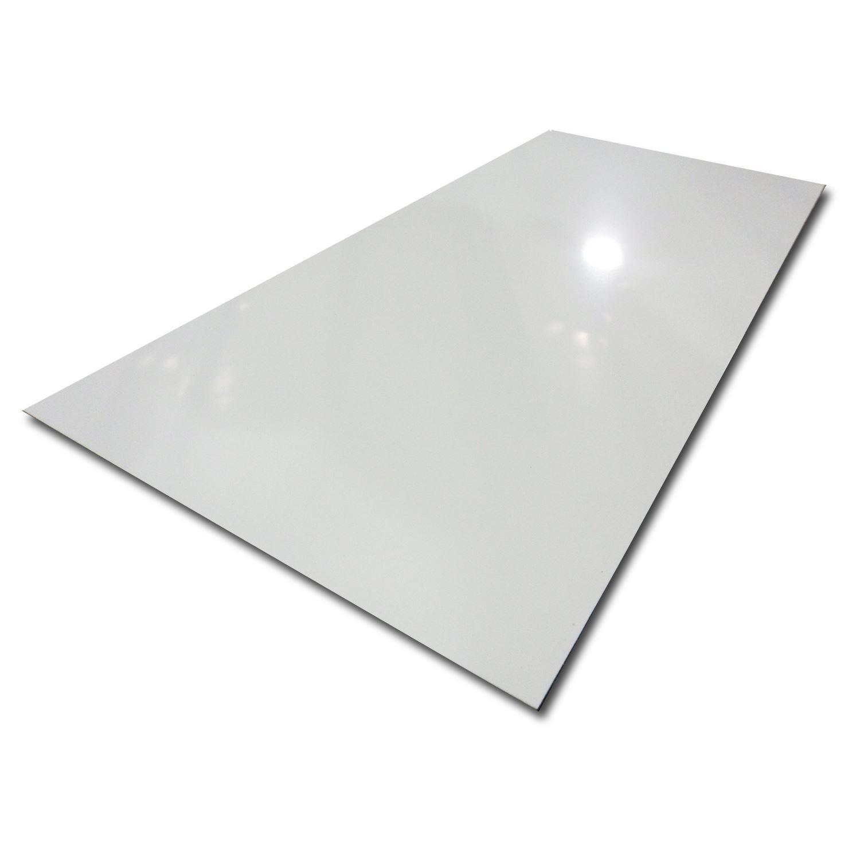 White Sheet Metal : White painted aluminum sheet quot ebay