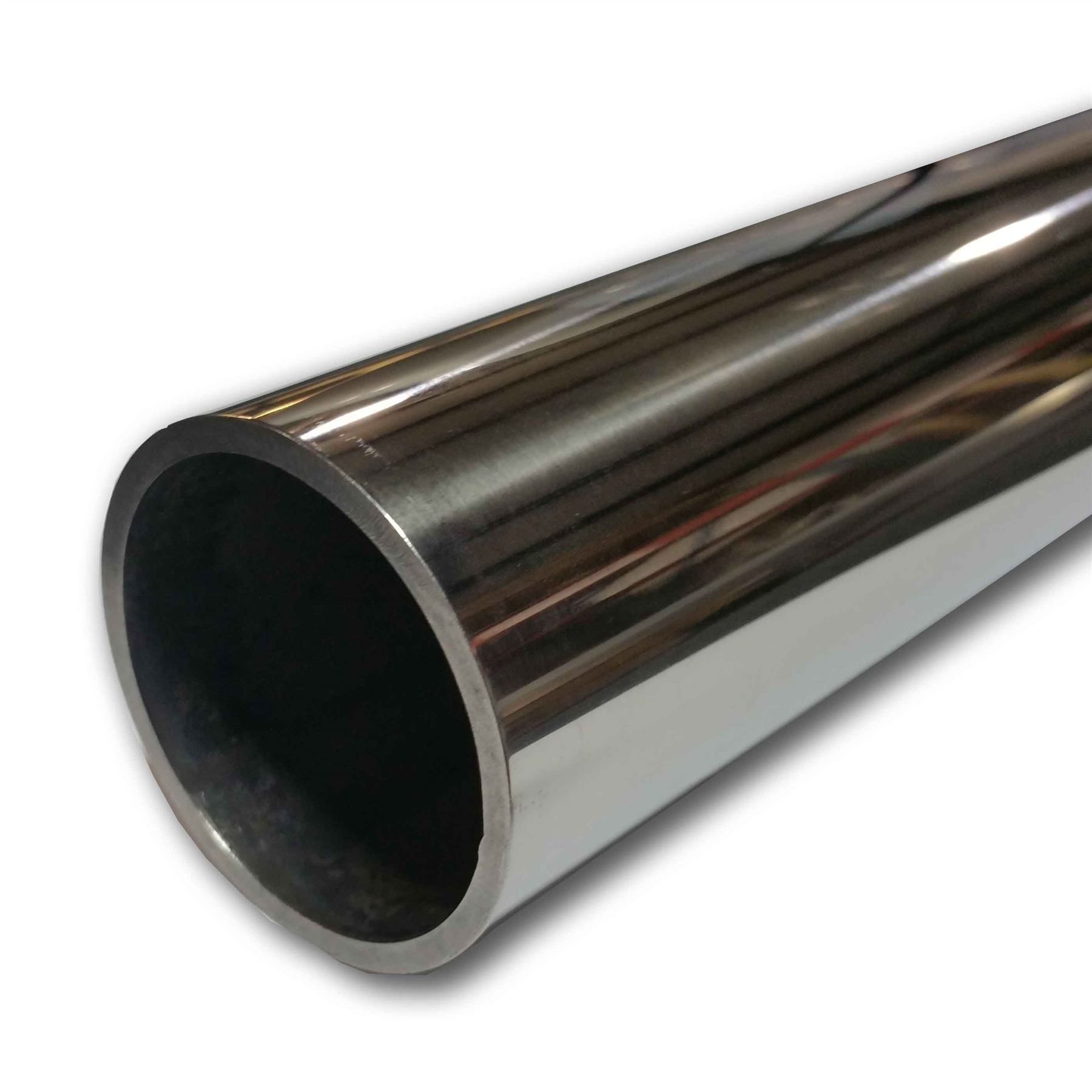 Polished stainless steel pipe inch quot sch s