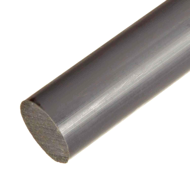 Pvc Type 1 Plastic Round Rod Bar 3 1 2 Quot Diameter X 12