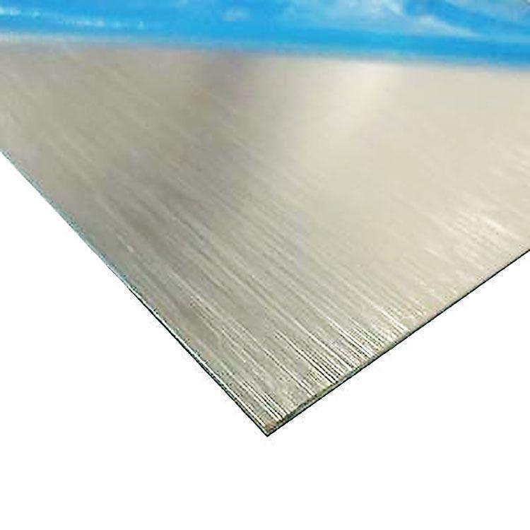Brushed Aluminium Sheet : Brite brushed anodized aluminum sheet quot ebay