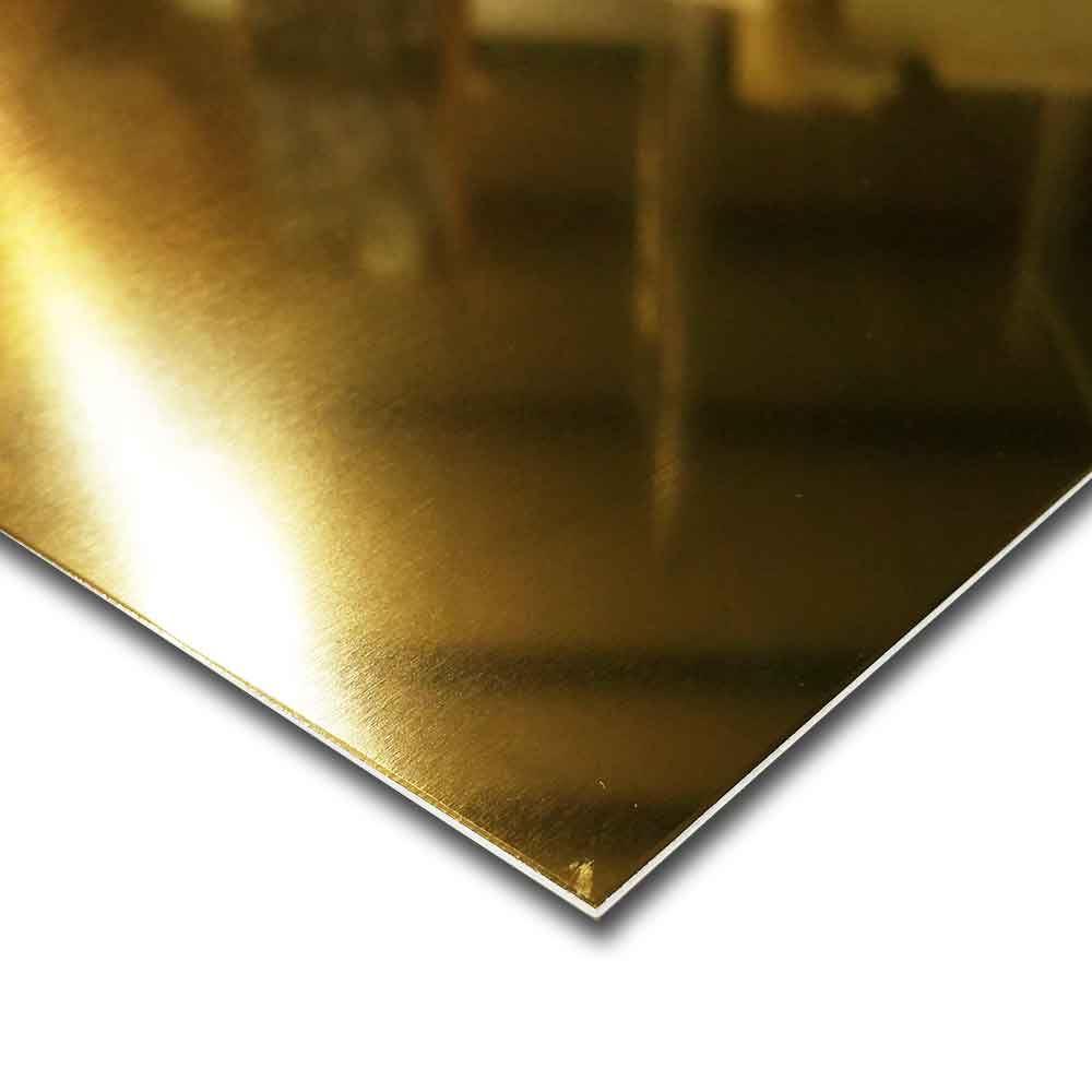 Bright Gold Anodized Aluminum Sheet 040 Quot X 12 Quot X 12 Quot Ebay