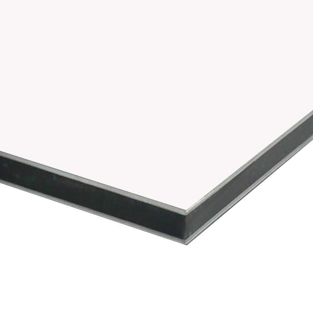 White Aluminum Composite Panel : Aluminum composite sheet sign panel mm quot