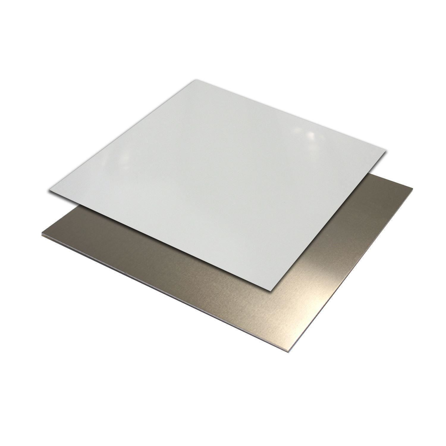 White Painted Mill Finish Aluminum Sheet 040 Quot X 24 Quot X