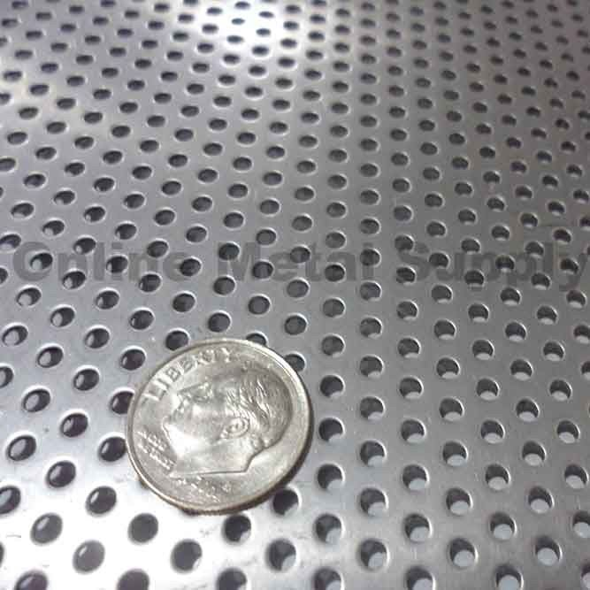 316 Stainless Steel Perforated Sheet 030 Quot X 36 Quot X 48 Quot 3