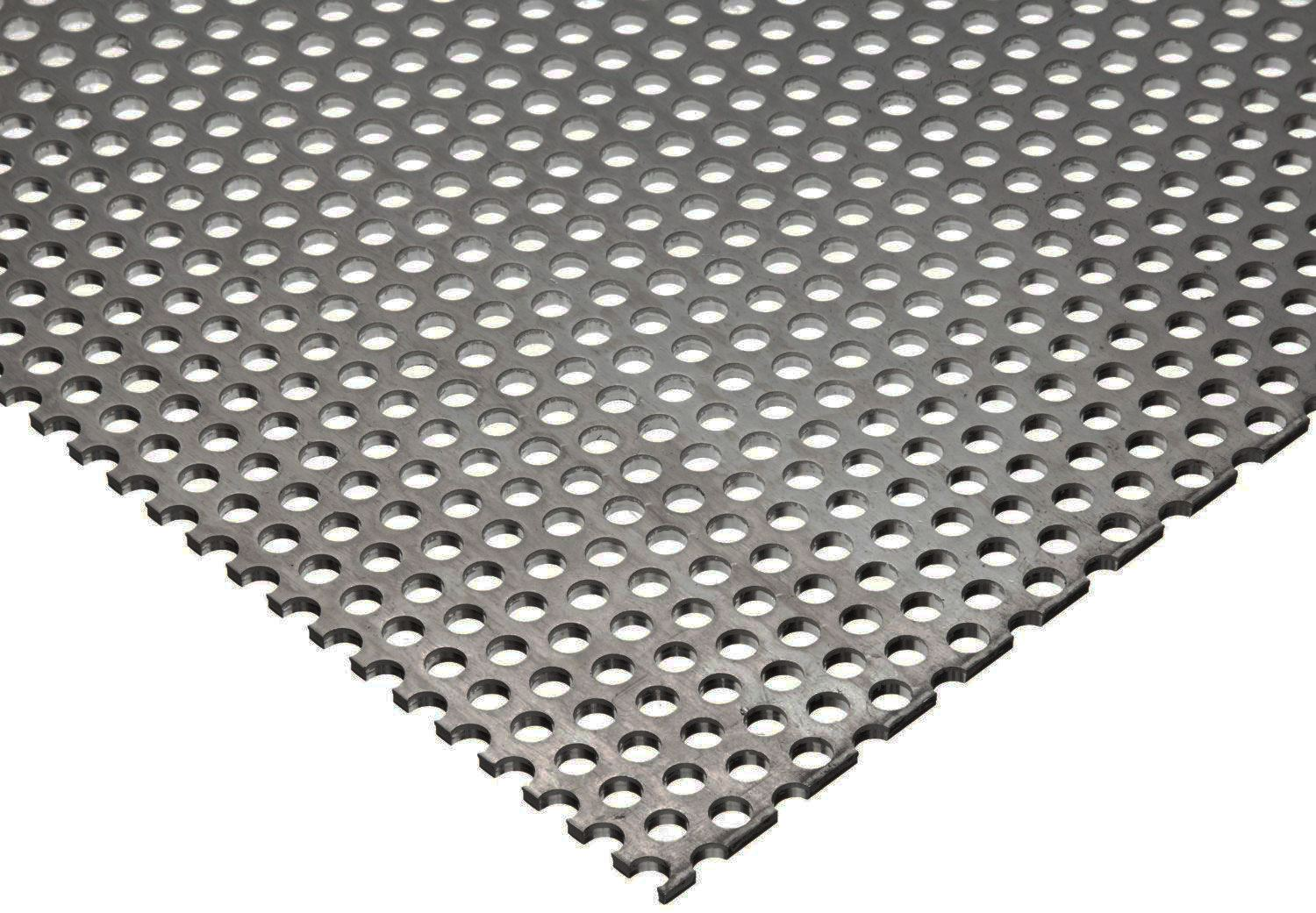 304 Stainless Steel Perforated Sheet 035 Quot 20 Ga X 12