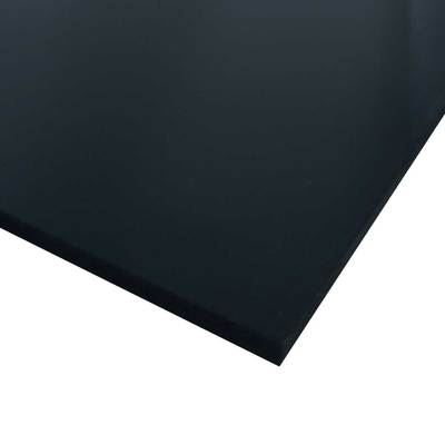 uhmw polyethylene plastic sheet 1 1 4 034 x 12 034 x 24 034 black ebay. Black Bedroom Furniture Sets. Home Design Ideas
