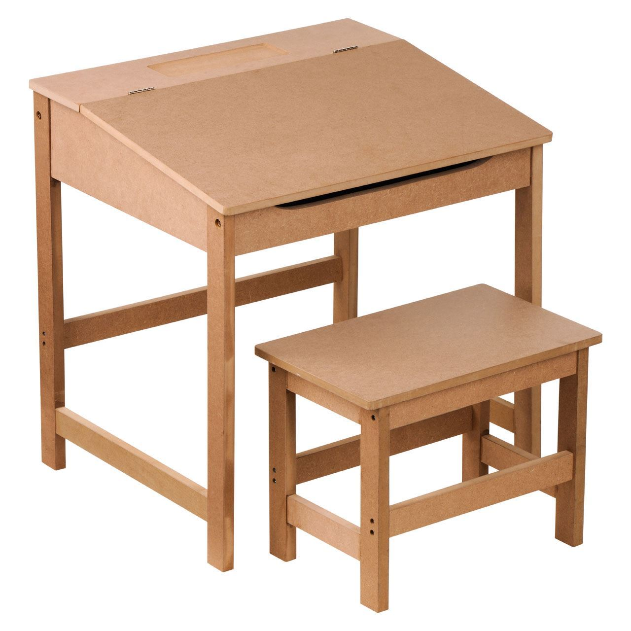 Study desk and chair set school drawing homework table for Best desk chair for kids