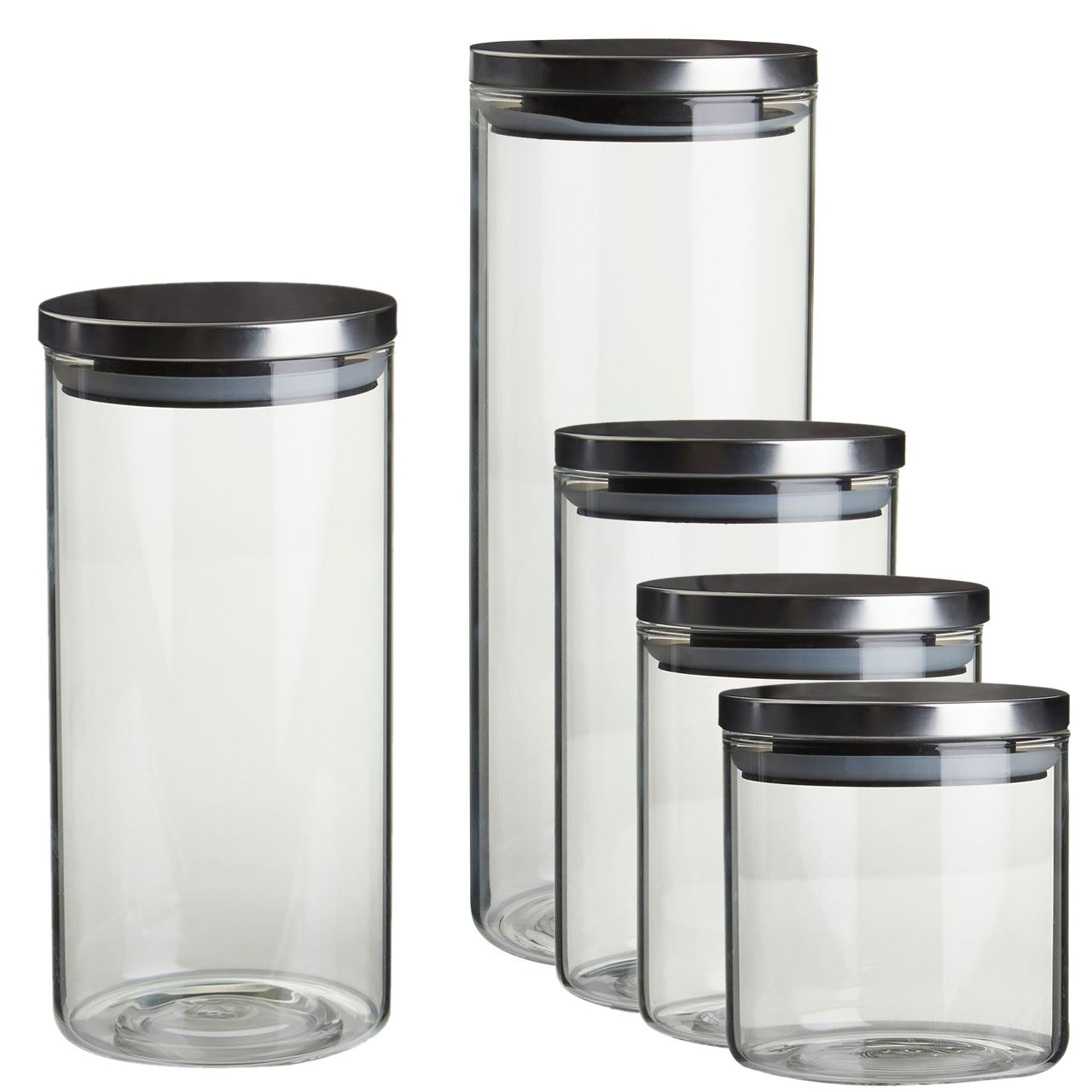 Glass Kitchen Jars Uk