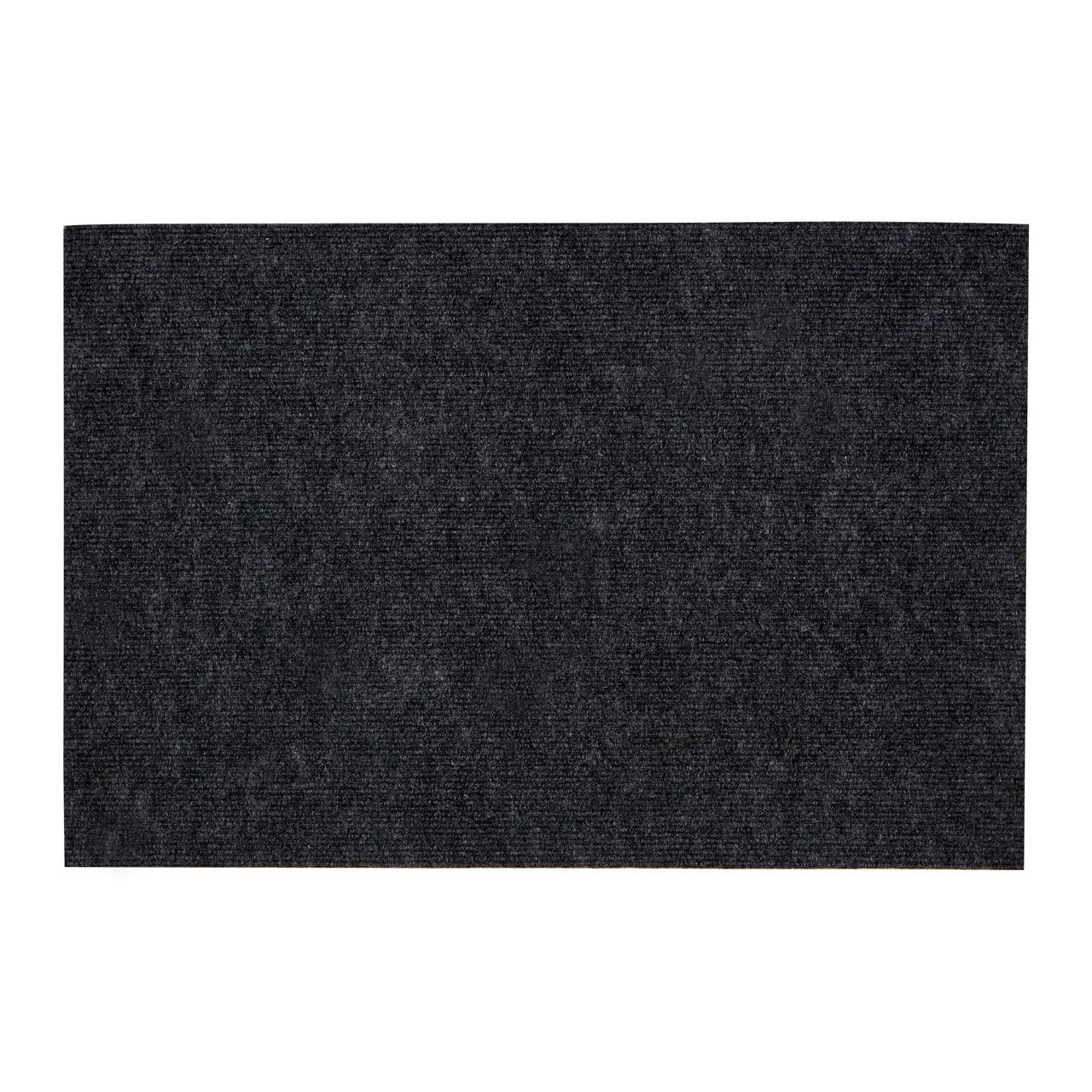 Indoor outdoor door mat non slip light and dark grey colour for Indoor front door mats