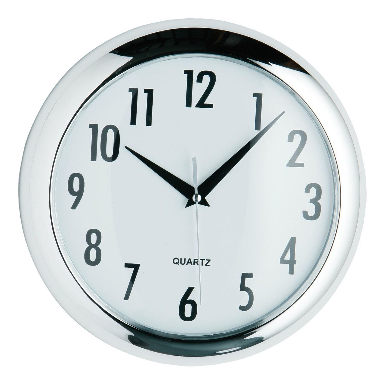 Chrome Living Room Wall Clocks Ebay