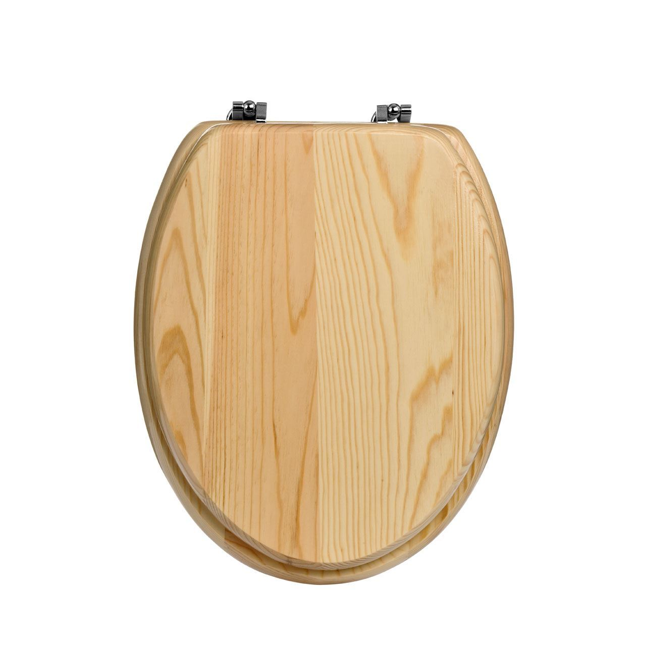 Toilet Seat Pine Wood Natural Colour 18 EBay