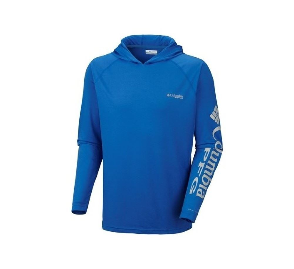 Columbia men 39 s terminal tackle hoodie fishing baselayer for Columbia fishing gear