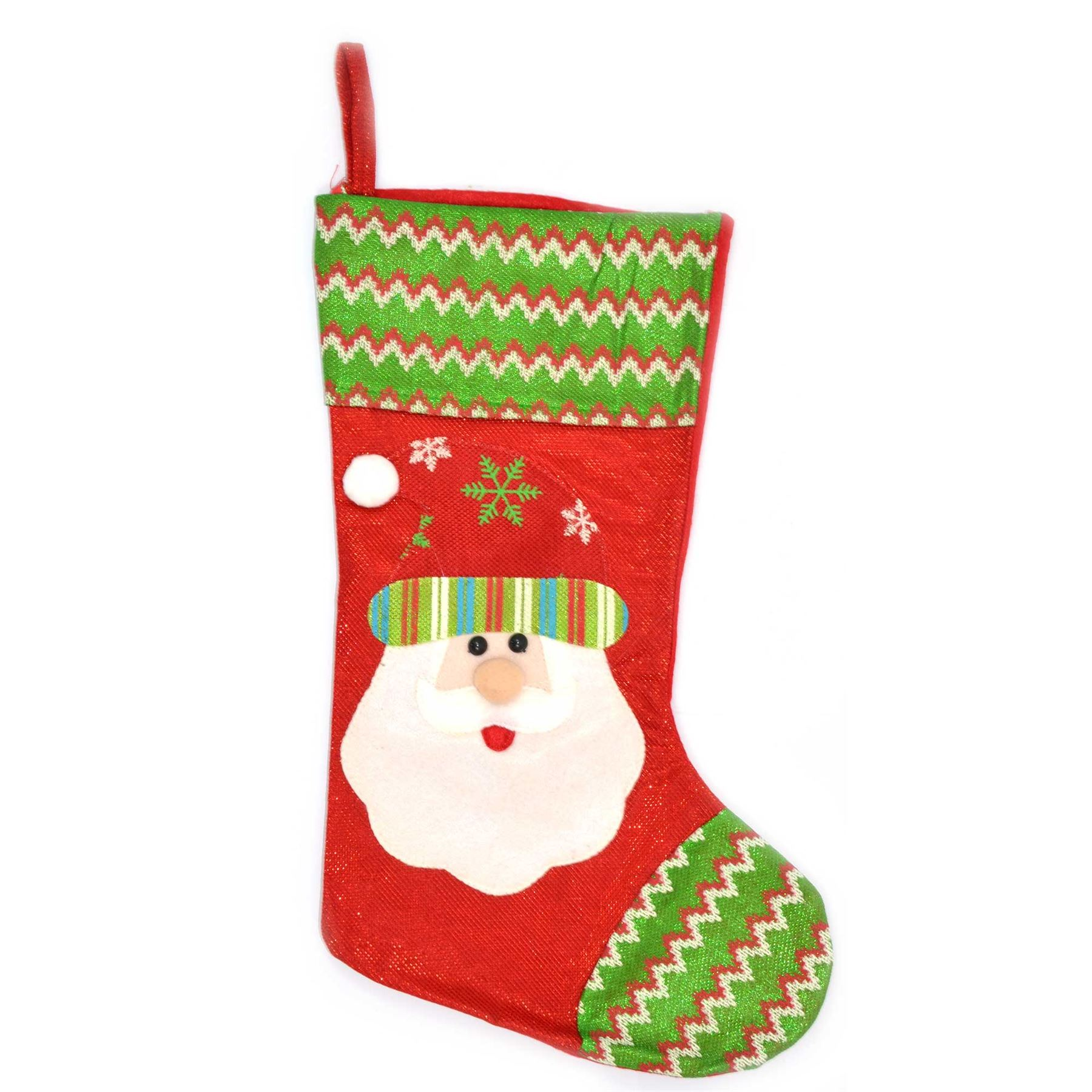 Traditional christmas stockings design xmas fillers socks for Santa decorations