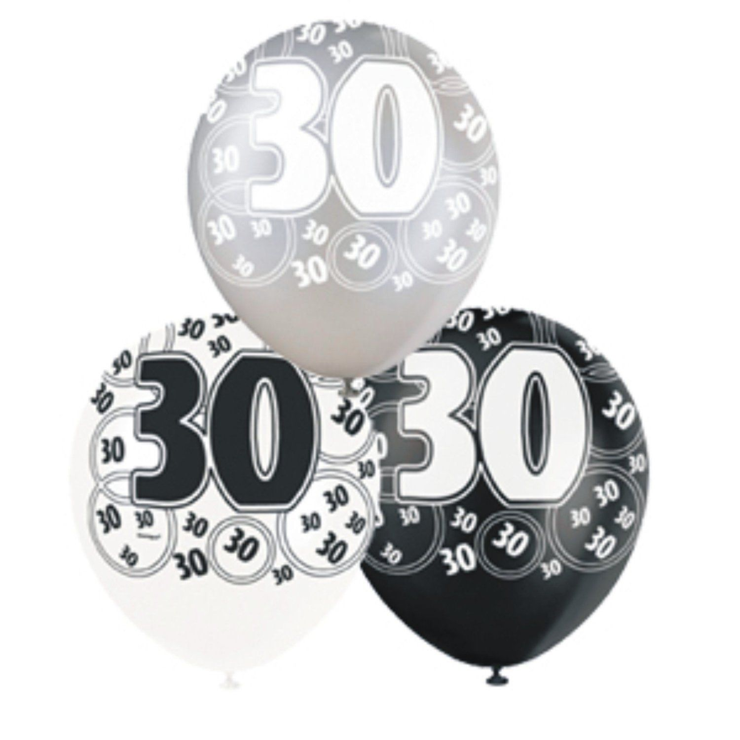 30th birtday decoration pack balloons banner candle badge for 30th birthday party decoration packs