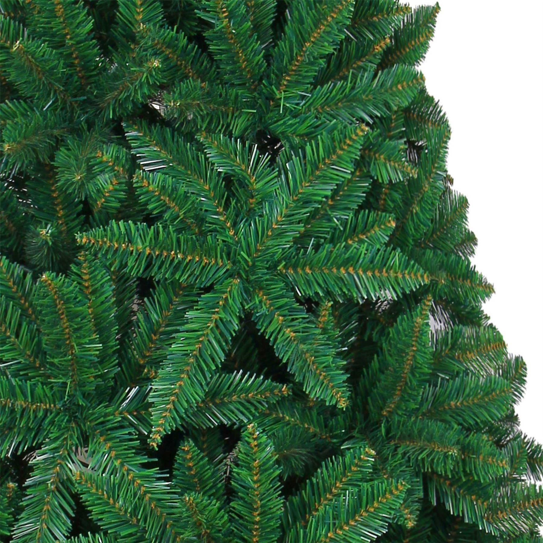 artificial christmas tree green imperial pine deluxe xmas