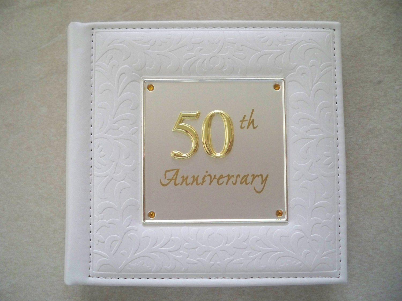 Deluxe 50th Wedding Anniversary Album 77985