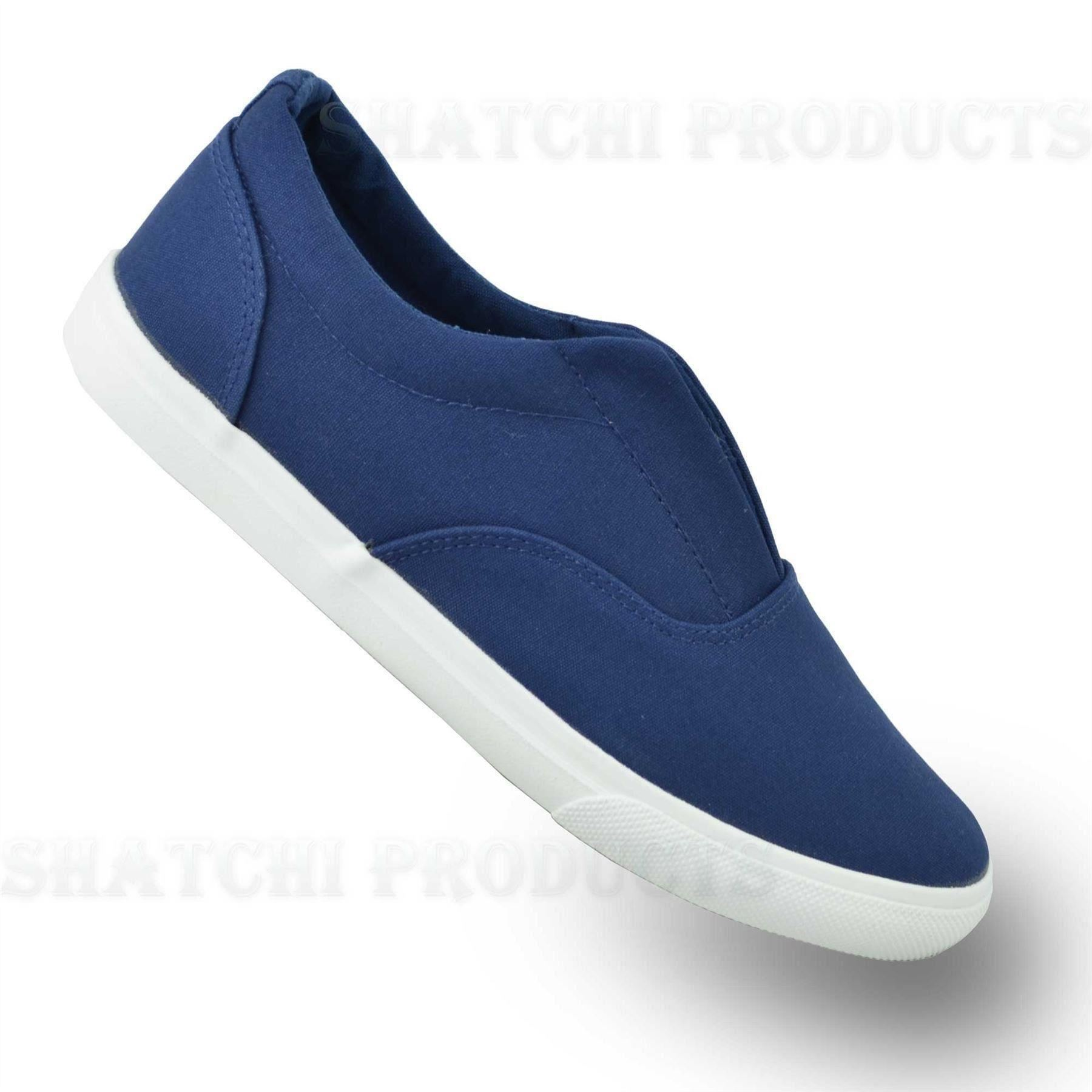 s canvas slip on casual summer shoes new style ebay