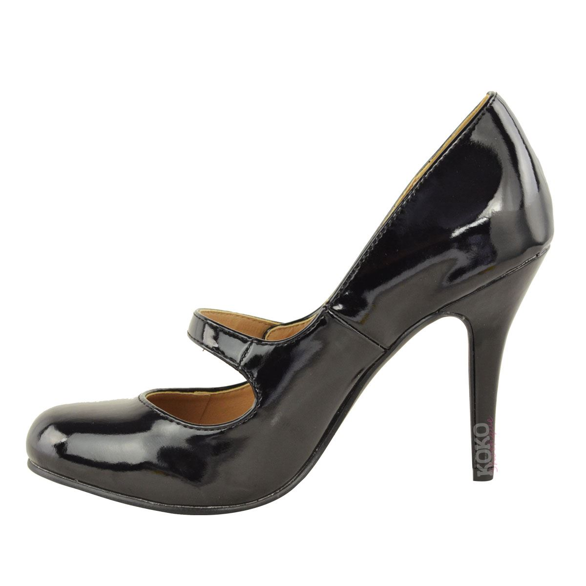 damen pumps mit high heels riemchen absatz hoch ebay. Black Bedroom Furniture Sets. Home Design Ideas