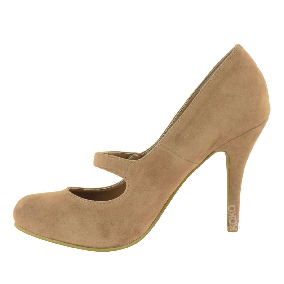 damen pumps mit high heels riemchen absatz hoch ebay. Black Bedroom Furniture Sets. Home Design Ideas
