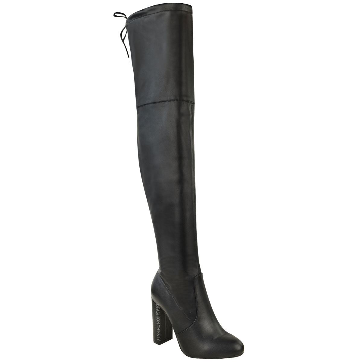 womens thigh high boots the knee stretch