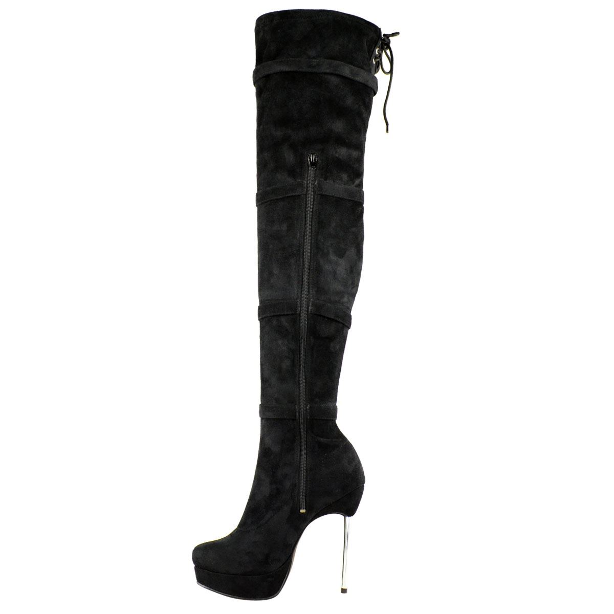 Damen Overknee-Stiefel - High Heels & Plateau - weiter