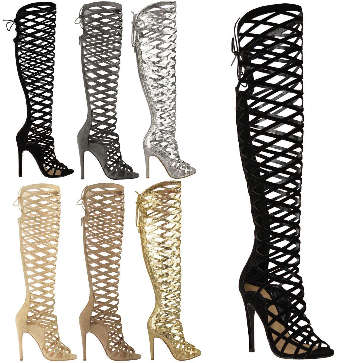 Gladiator High Heel Boots