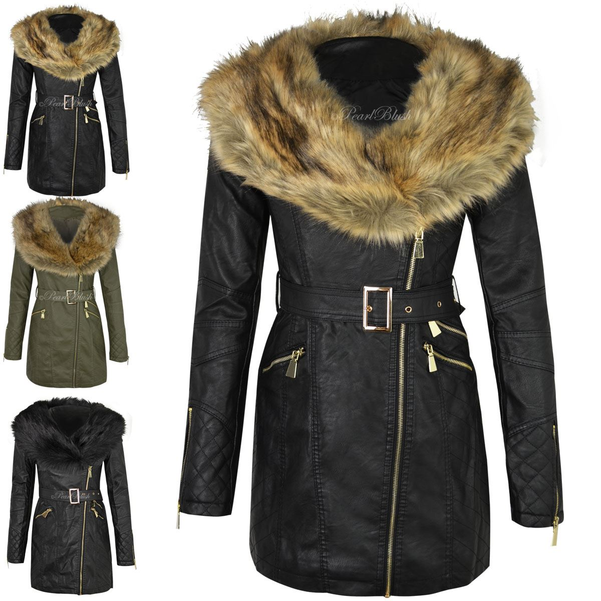 Ladies Parka Coats - JacketIn