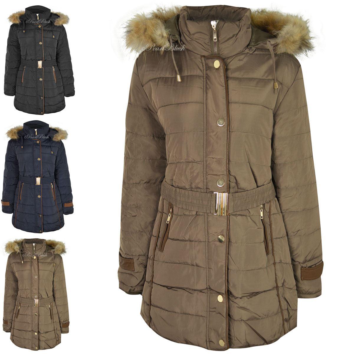 Plus size women winter coats
