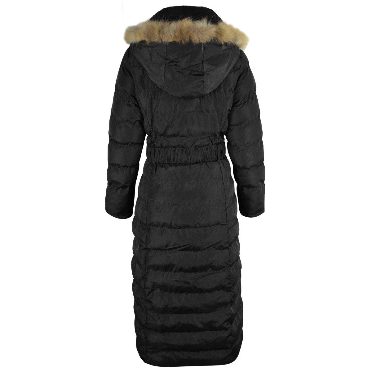 Full length womens winter coats