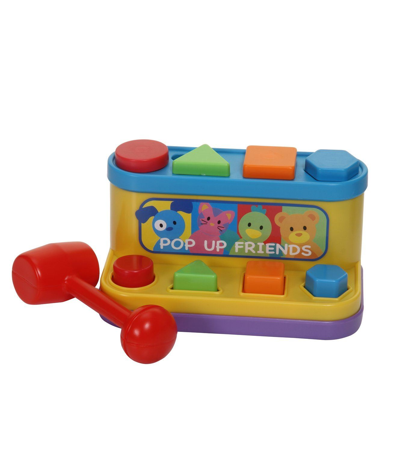 Fun Time Toys : Fun time baby toys shape sorter teach triangle