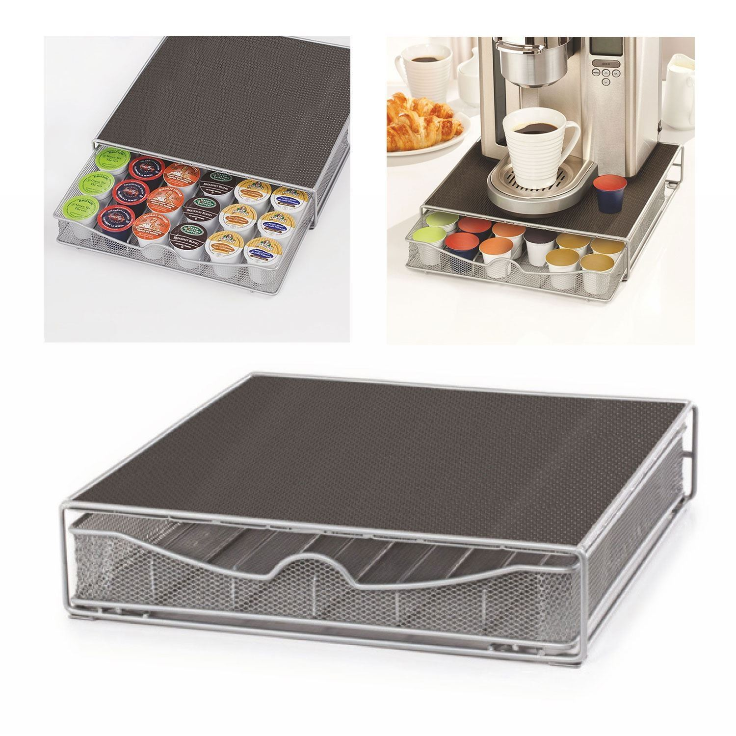 36 Coffee Pod Holder Drawer Tray Amp Machine Stand Nescafe