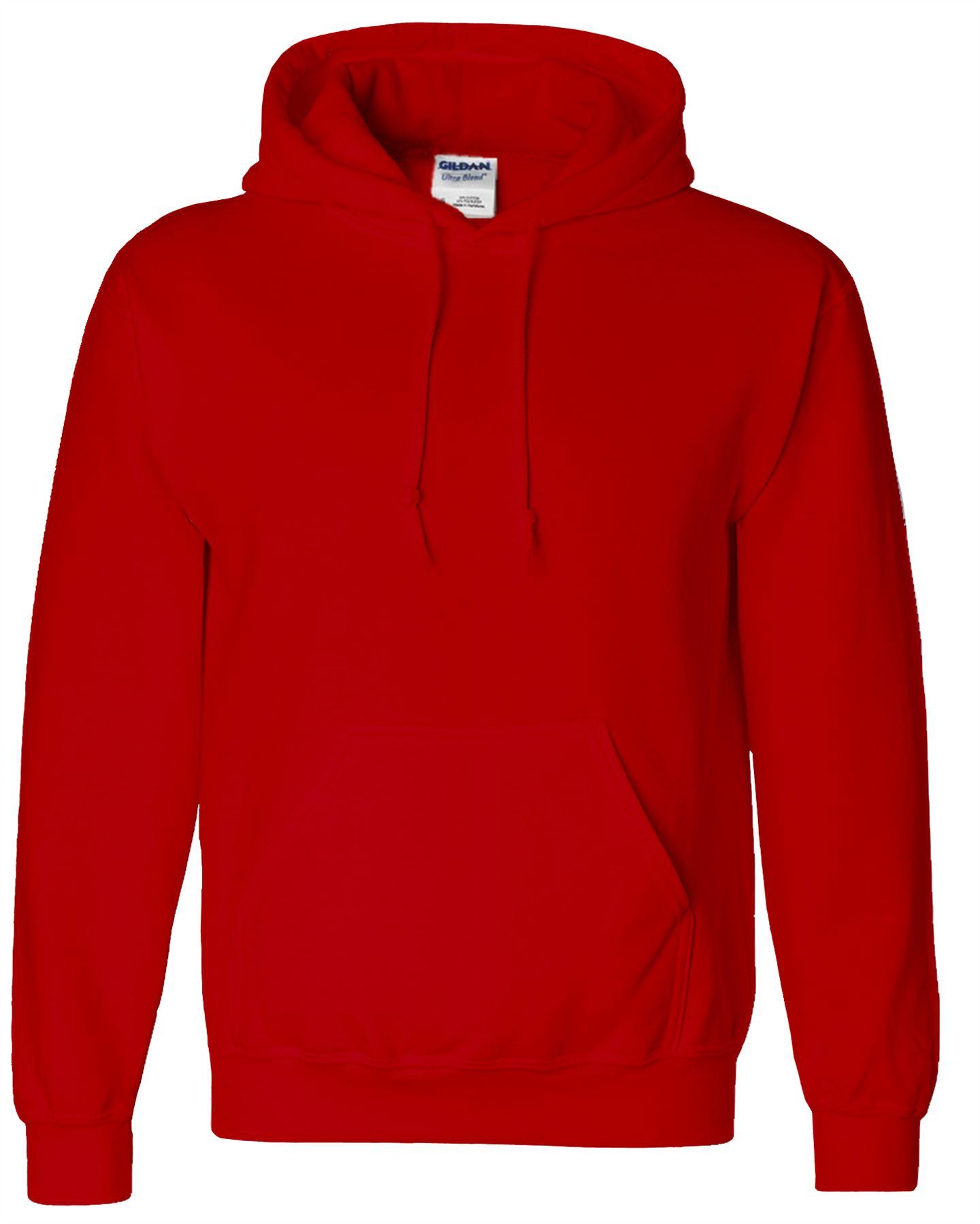 New Men Boy Unisex Gildan Heavy Blend Plain Hooded Sweatshirt Sweat Hoody Jumper