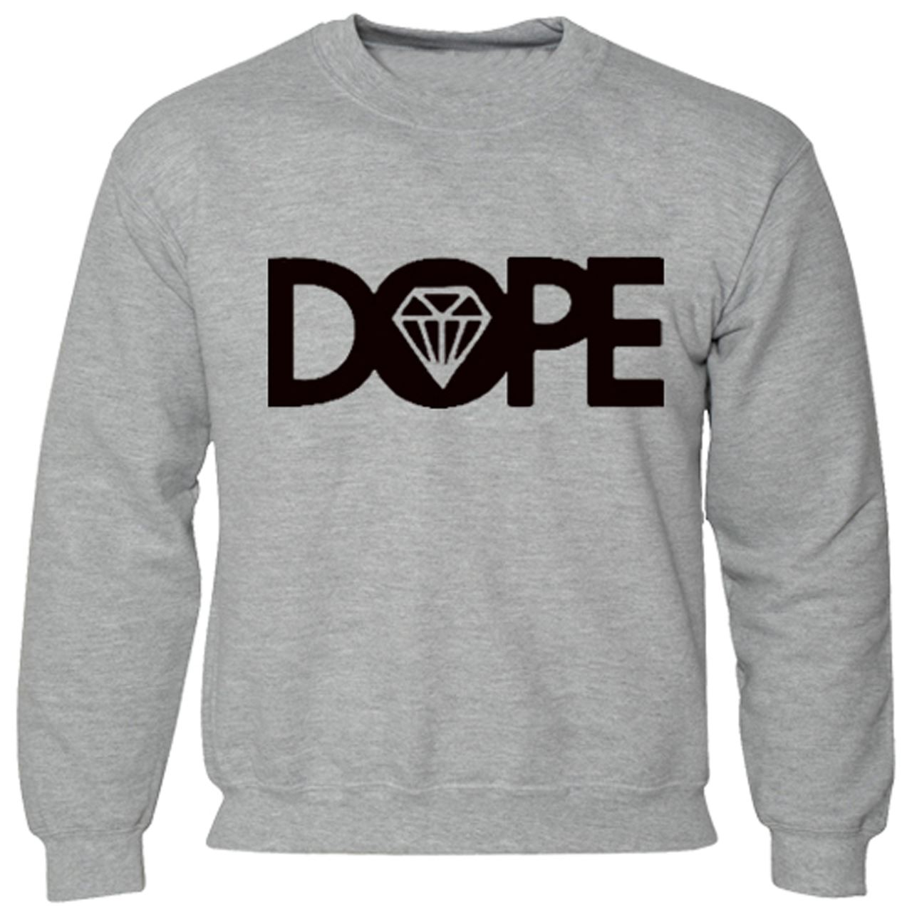 Men Boy Unisex Dope Sweater Hoodie New Jumper Diamond Sweat Shirt ...