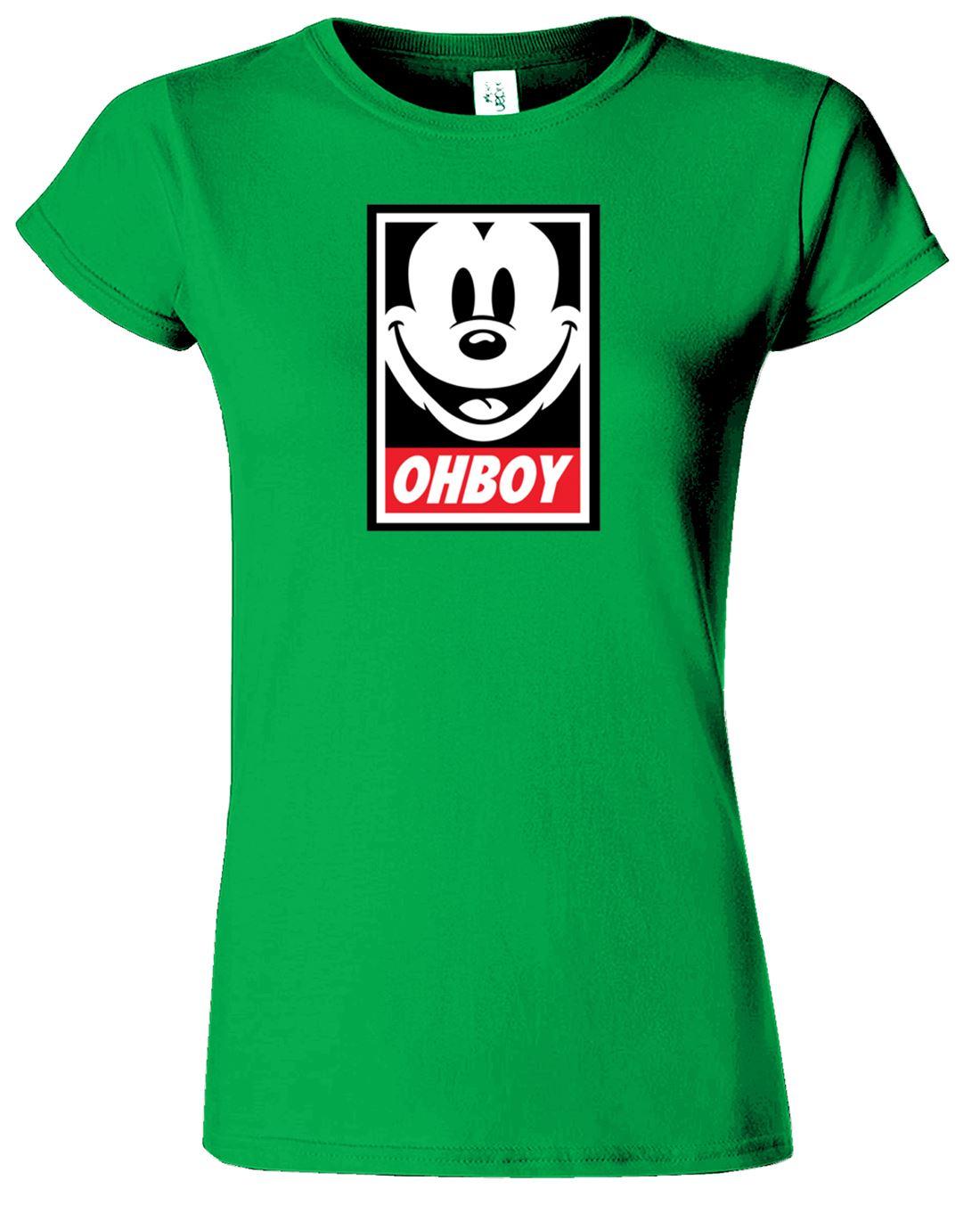 New look ohboy t shirt womens girls ladies xxl l m s for Womens golf shirts xxl