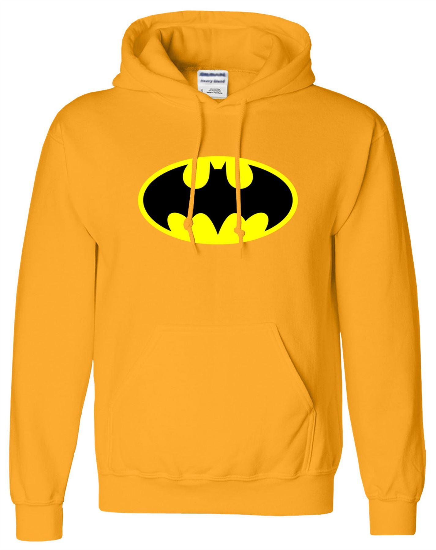 BATMAN-Mens-Womens-Sweat-Hood-Super-Fantastic-Hero-Top-Jumper-Hoodie